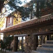 Дома из оцилиндрованного бревна, деревянные дома