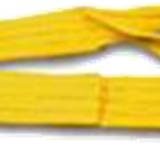 Строп текстильный ленточный петлевой/кольцевой 6м, 75мм, 3 т, желтая фото