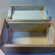 Деревянная упаковка, ложементы под мерительные приборы фото