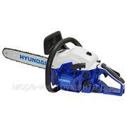 Бензопила Hyundai X250, 1.2 л.с./25 сс, длина шины 30 см, пильная цепь 3/8-1.3 мм, 3.3 кг фото