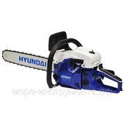 Пила бензиновая Hyundai X460, professional, 3.1 л.с./45.02 сс, шина 45 см, пильная цепь 0.325-1.5 мм, 5.1 кг. фото