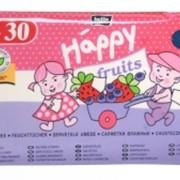 Влажные салфетки Нарру Fruits клубника + черинка фото
