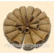 Вафельный рожок Конус сахарный фото