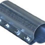 Соединительная оцинкованная муфта для трубы Ø 60 мм. / арт. 10222002/ фото