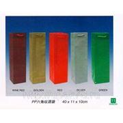 Пакеты бумажные винные 10х33 | для бутылок | оптом купить | упаковка для напитков | фото