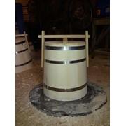 Липовая бочка для хранения мёда 20 л, 30 л Кадка для меда фото
