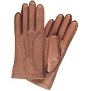 Перчатки женские из кожи оленя, модель 197к фото