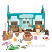 Babysuper Набор игровой Li'l Woodzeez Магазин долины Ханисакл 6089M, с аксессуарами фото
