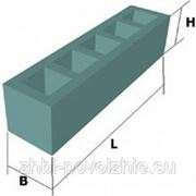 Блоки унифицированные дырчатые (шириной 580 мм) УДБ 4.2 фото