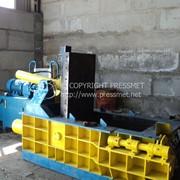 Пресc пакетировочный гидравлический для переработки металлолома Y83UA-125 (в наличии на складе) фото