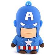 Флешка Капитан Америка 8 Гб фото