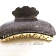Заколка-краб Мелкая сеточка микс фото