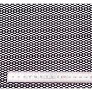 Сетка чёрная 100×15 см. мелкая ячейка фото