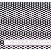 Сетка чёрная 100×15 см. средняя ячейка фото