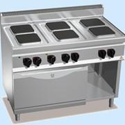 Плита электрическая с духовым шкафом E7PQ6+FE1 фото