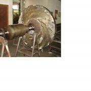 Ремонт рабочих колес роторов центробежных компрессоров и нагнетателей фото