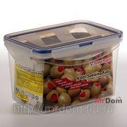 Контейнер для продуктов с защелками 1,8 л без сита (756467) фото