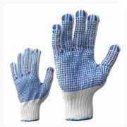 Рабочие перчатки текстильные 001 фото