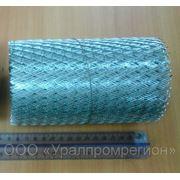 Просечно-вытяжная оцинкованная полоса (лента) ЦПВС 20 (0,13х7м. ) фото