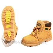 Ботинки Hummer желтого цвета ,с металлоподноском