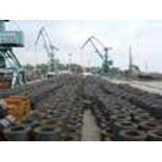 Перевалка металлопроката в портах Таганрог Ростов на экспорт и импорт фото