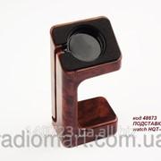 Док-станция Wood Темно-коричневая для Apple Watch фото