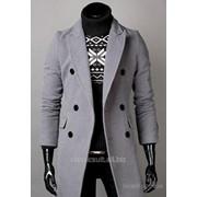 Пошив мужского пальто из ткани ателье с вложениями шерсти фото