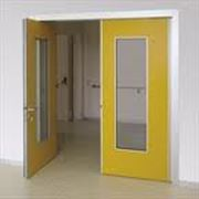 Поворотные двери фото
