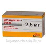 Метотрексат эбеве табл. 2,5 мг № 50 фото
