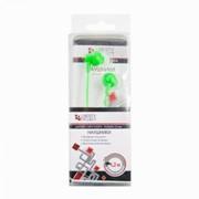 Наушники «LP» для MP3 плееров разъем 3,5 мм. (вакуумные) зеленые фото