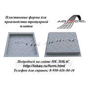 Формы для производства и изготовления тротуарной плитки «Мостовая» фото