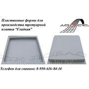 Пластиковая форма для тротуарной плитки «Гладкая» фото