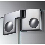 Дверная петля для душевых кабин Plan artist 135° упор DIN слева фото