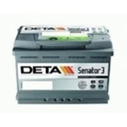 Аккумулятор Deta DA755 (75Ah) фото
