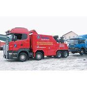 Буксировка грузовиков фото