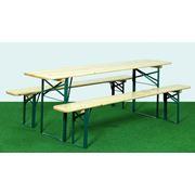 Пивные столы и скамьи фото