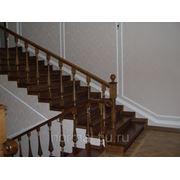 Дубовые ступени для лестниц фото