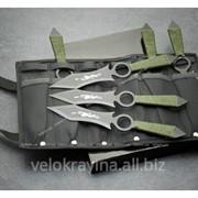 Набор метательных ножей YF005 6шт 58гр фото