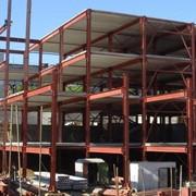Монтаж зданий из металлоконструкций фото