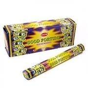 Благовония 'Good Fortune' 'Удача' НЕМ Индия, 20 палочек фото