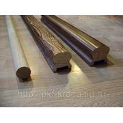 Перила деревянные фото