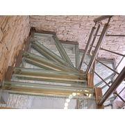 Лестницы из нержавеющей стали. фото