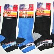 Носки теплые с махрой внутри х/б-стрейч р.36-40 фото