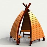 Детский домик Модель Б11 фото