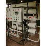 Мембранная установка очистки воды (обратный осмос) ультрафильтрация фото