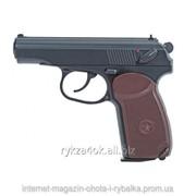 Пневматический газобалонный пистолет Макарова ПМ KWC PM-44 фото