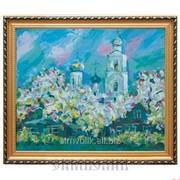 Репродукция картины Яблони цветут Чайка В. фото
