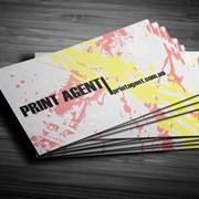 Печать визиток, 350г/м2, 1000шт фото