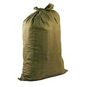 Полипропиленовые зеленые мешки 55х105 фото