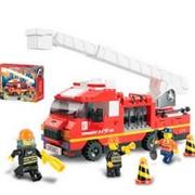 Конструктор SLUBAN Пожарные спасатели фото